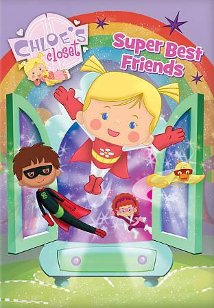Chloes Closet Super Best Friends DVD 2012