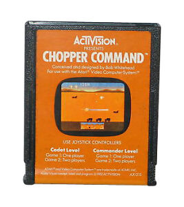 Chopper Command  (Atari 2600, 1982)