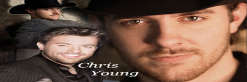 Chris Young Bookmark in Books, Accessories, Bookmarks | eBay