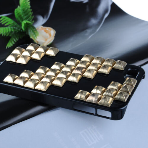 Christmas Crossing Punk pyramid Studs Rivet Hard Cover case for iphone 4 WCD02 in Cell Phones & Accessories, Cell Phone Accessories, Cases, Covers & Skins | eBay