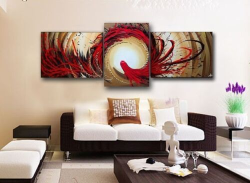 Christmas Decor ★TOP Handpaint ART★OIL painting★3P (NO Framed)+LLLL25 in Home & Garden, Home Decor, Posters & Prints | eBay