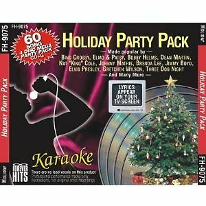 Christmas KARAOKE HOLIDAY PARTY 60 Sgs 4 CDG Set WHITE CHRISTMAS Rudolph FROSTY in Musical Instruments & Gear, Karaoke Entertainment, Karaoke CDGs, DVDs & Media | eBay