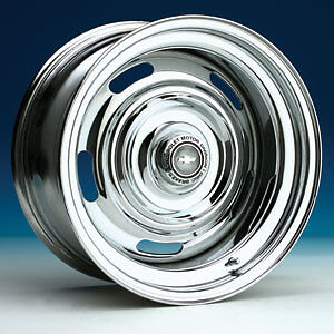 Chrome Chevy Camaro Rally Wheels Corvette 15x7 8