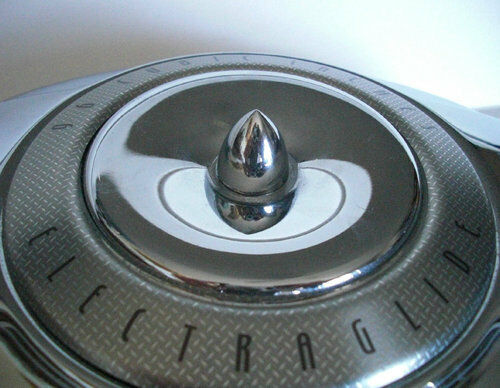 Custom Made Air Cleaners : Show chrome billet quot spike aluminum air cleaner bolt for