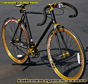 Chromoly Frame Road Bike