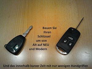 Chrysler-300C-Dodge-Magnum-Charger-Schluessel-Klappschluessel-Rohling-3-Tasten
