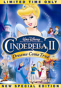 Cinderella II: Dreams Come True (DVD, 20...