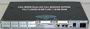 Cisco-2600-2620XM-Call-Manager-Express-CME-CCNA-Voice