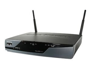 Cisco 877W 54 Mbps 4-Port 10/100 Wireles...
