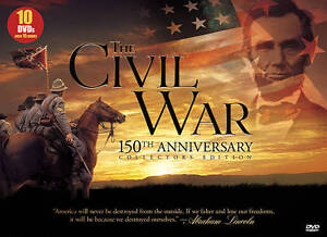 The Civil War (DVD, 2011, 10-Disc Set, 1...
