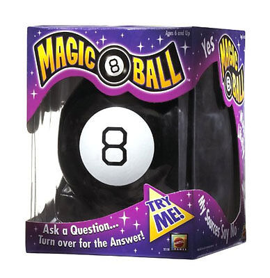 Classic Magic 8-Ball Toy by Mattel - New in Box! in Toys & Hobbies, Classic Toys, Other | eBay