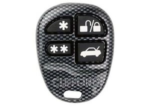 clifford g5 g4 car alarm replacement 4 button remote fob. Black Bedroom Furniture Sets. Home Design Ideas