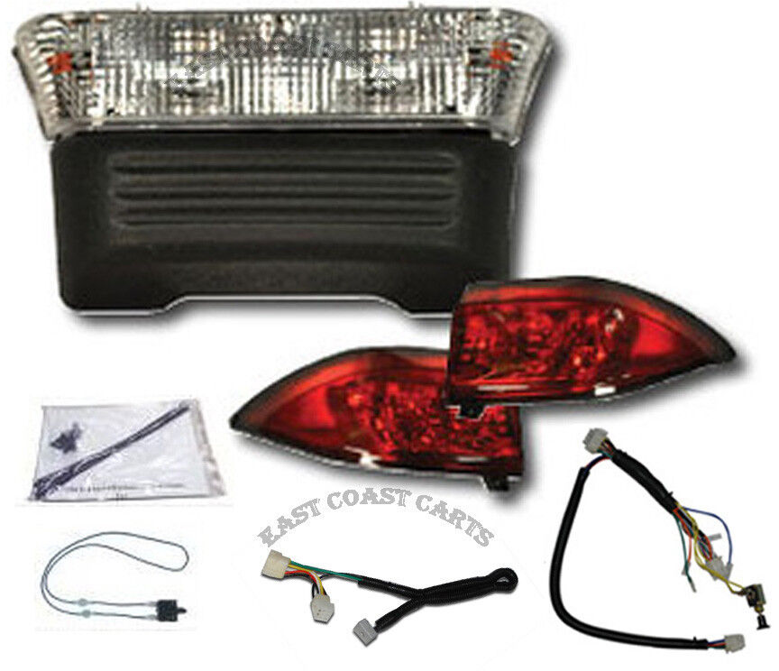 club car precedent gas plug go head light kit w led taillights ebay. Black Bedroom Furniture Sets. Home Design Ideas