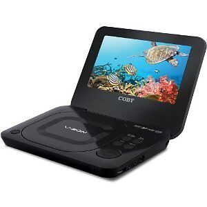 "Coby TFDVD7011 Portable DVD Player (7"")"
