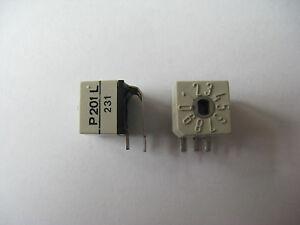 Codierschalter-0-9-Schalter-Printmontage-4-Stck