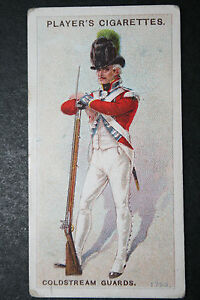 Coldstream-Guards-Light-Infantry-Company-circa-1793-Vintage-Uniform-Card