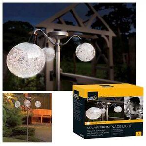cole and bright solar promenade outdoor garden lights ebay. Black Bedroom Furniture Sets. Home Design Ideas