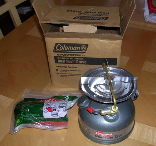 Coleman Sportster II Dual Fuel 1-Burner Stove 3000000792 in Consumer Electronics, Gadgets & Other Electronics, Other   eBay