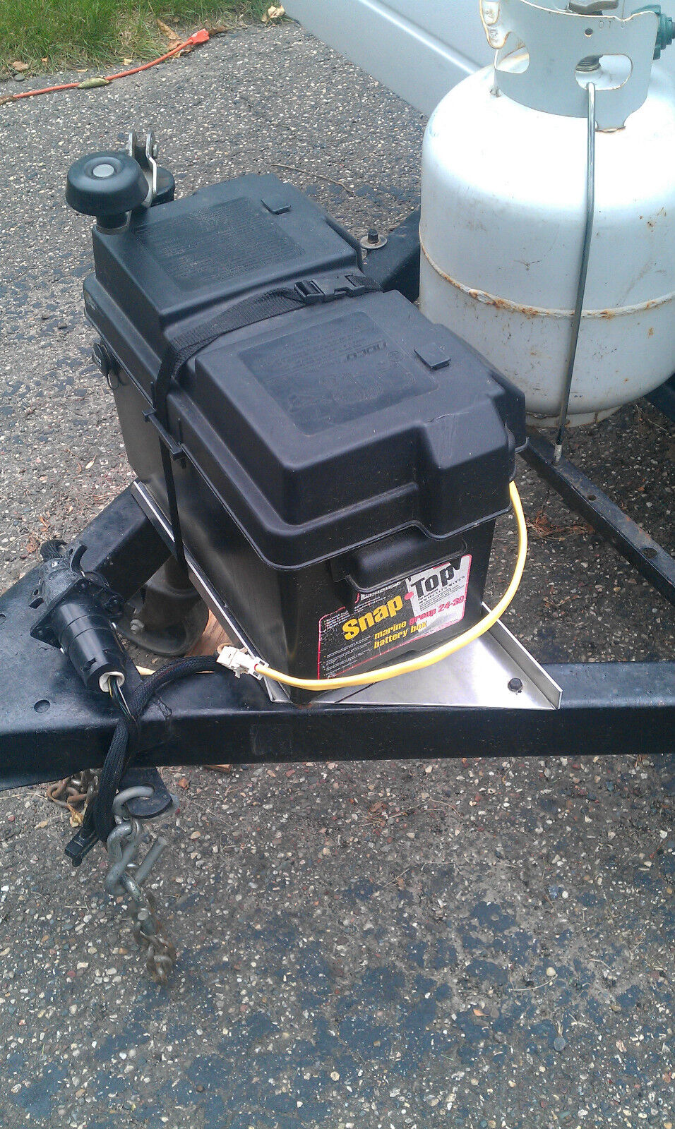 1996 Coleman Sun Valley Battery Hook Up Popupportal Trailer Wiring Harness Img
