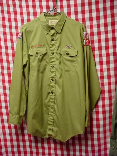 Collectible Vintage Boy Scouts of America BSA Boonville NC 653 Shirt Size L EC! in Collectibles, Historical Memorabilia, Fraternal Organizations   eBay