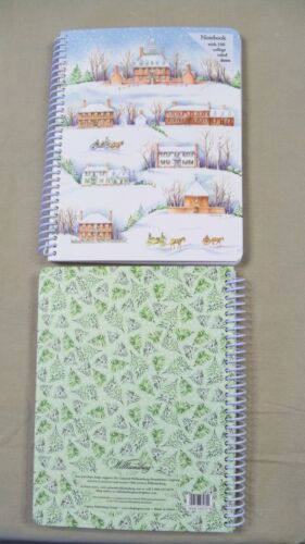 Colonial Williamsburg Snowy Village Spiral Journal Notebook Diary Writing Book in Books, Accessories, Blank Diaries & Journals | eBay