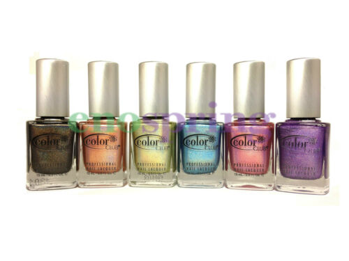 Color Club 2013 Holographic Halo Hues Nail Polish Lacquer 6 Color Collection in Health & Beauty, Nail Care & Polish, Nail Polish | eBay