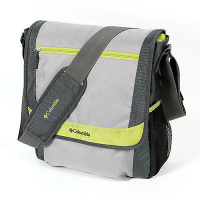 columbia timeless travel messenger diaper bag grey ebay. Black Bedroom Furniture Sets. Home Design Ideas
