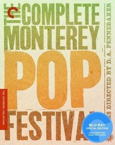 The Complete Monterey Pop Festival (Blu-...