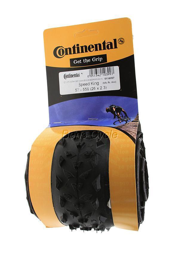 Continental Speed King Marathon Mtn MTB Mountain Bike Bicycle Tire 26 x 2 3