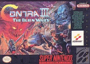 Contra III: The Alien Wars  (Super NES, ...