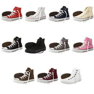 Converse-Chucks-ALL-STAR-HI-Schuhe-Sneaker-Klassik-Alle-Farben-und-Groessen