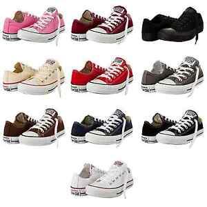 Converse-Chucks-ALL-STAR-LOW-Schuhe-Sneaker-Klassik-Alle-Farben-Groessen