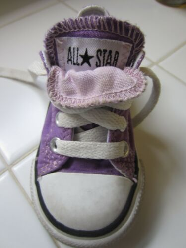 Converse purple toddler size 4 in Clothing, Shoes & Accessories, Baby & Toddler Clothing, Baby Shoes | eBay