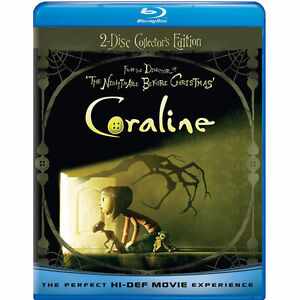 Coraline (Blu-ray Disc, 2009, 2-Disc Set...