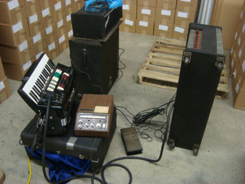 Cordovox Complete System - 100% Functional! in Musical Instruments & Gear, Accordion & Concertina | eBay