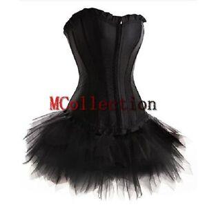 corsage kleid mini rock petticoat tutu gro e gr en satin. Black Bedroom Furniture Sets. Home Design Ideas