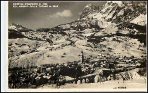 Cortina-d-Ampezzo-Hayden-Dolomiten-Italien-AK-40-50er