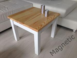 Couchtisch Tisch Kiefer Massiv weiß honig neu eBay