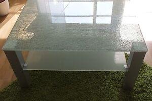 couchtisch crashglas couchtisch crashglas verona sehr modern ebay
