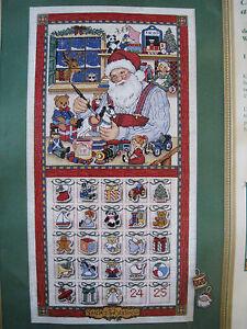 ... Holiday Advent Calendar Kit Christmas Countdown Whiteaker | eBay