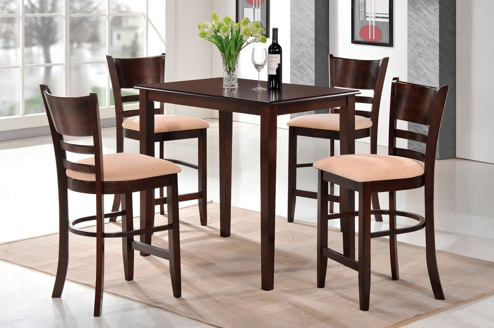 Counter Height Wood Kitchen Tables Types Of Wood