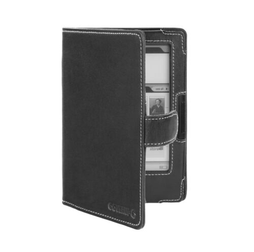 Cover-Up Bookeen Cybook Odyssey eReader Book Style Nappa Leather Case - Black in Books, Accessories, Book Covers | eBay