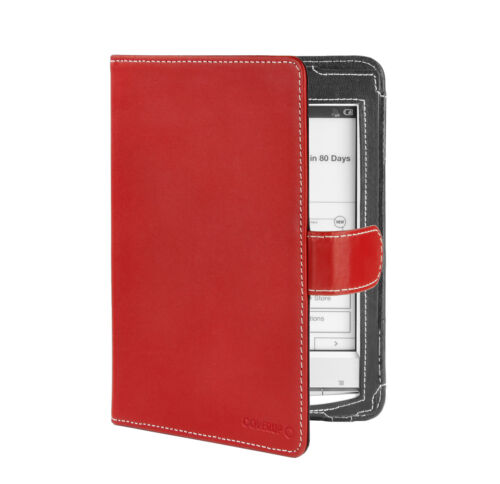 Cover-Up Sony Reader PRS-T1 (Book Style) Red Leather Cover Case in Books, Accessories, Book Covers | eBay