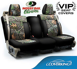 coverking mossy oak obsession seat covers for ford f 250 f. Black Bedroom Furniture Sets. Home Design Ideas