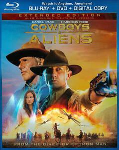 Cowboys  Aliens (Blu-ray/DVD, 2011, 2-Di...