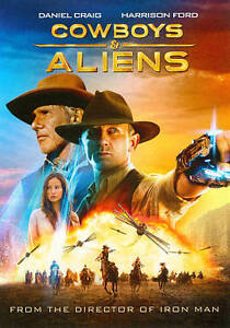 Cowboys and Aliens (DVD, 2011)