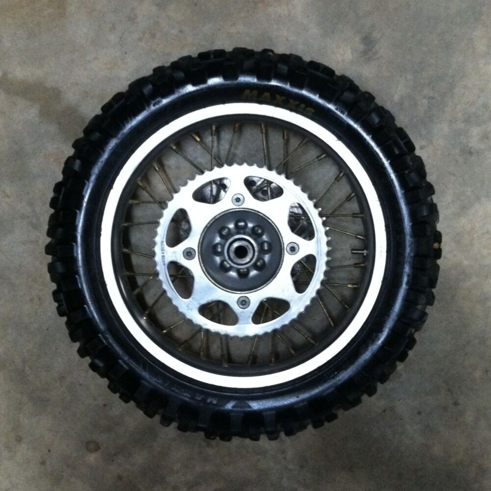 Cr85 06 Honda Cr 85 80 Cr80 Rear Wheel Hub Sprocket Rim Spokes