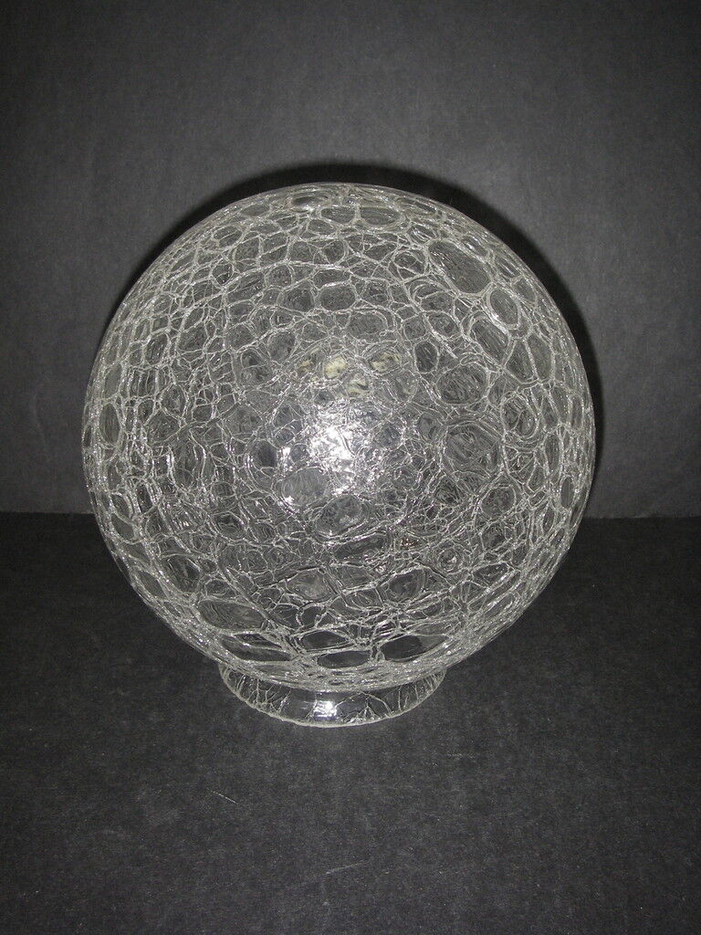 Crackle Glass Light Lamp Shade Electric Ceiling Fixture