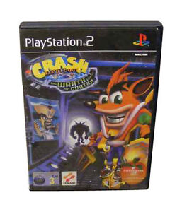 Crash-Bandicoot-The-Wrath-of-Cortex-for-Sony-PlayStation-2-NO-MANUAL