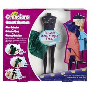 Crayola Catwalk Creations Girls Fashion Designer Design Studio Set Toy Ebay
